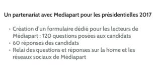 Un partenariat avec Mediapart